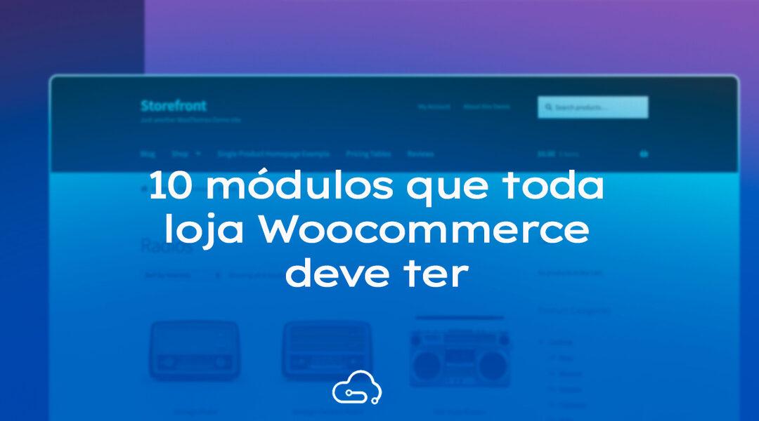 10 melhores plugins para WooCommerce